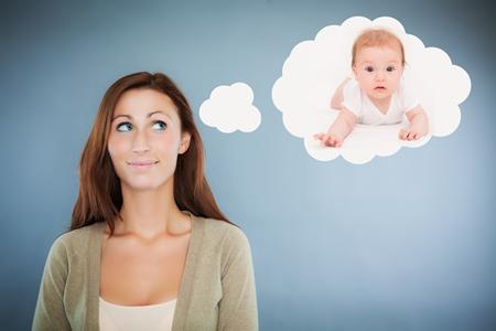 Werdende Mutter wuenscht sich ein Kind SSW-0-3