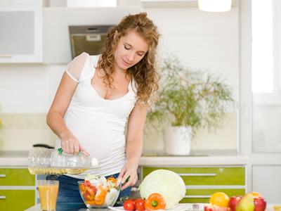 In der Schwangerschaft steigt der Vitaminbedarf